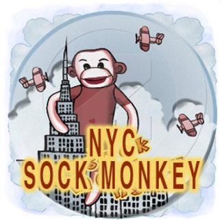 NYC Sock Monkey