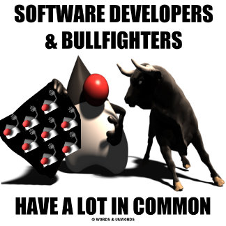 Software Developers & Bullfighters Have Lot Common