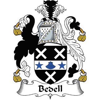 Bedell Family Crest / Coat of Arms