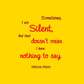 Sometimes Silent