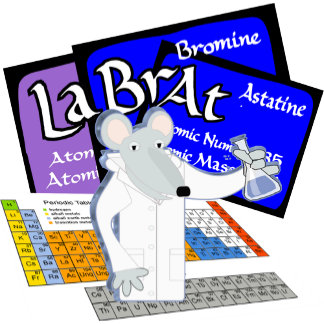 LAB RAT!  SCIENTIST/ LABORATORY PERIODIC TABLE