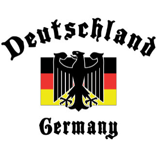 Deutschland Germany Flag T-Shirt Gifts Cards