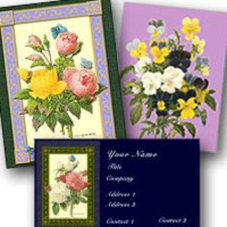Vintage Botanical Floral Art Designs