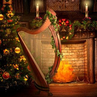 Holiday Harp Entertaining