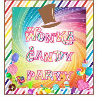 Wonka Candy Party