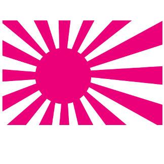 Pink Rising Sun