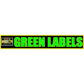GREEN LABELS- MEDICAL MARIJUANA APRONS