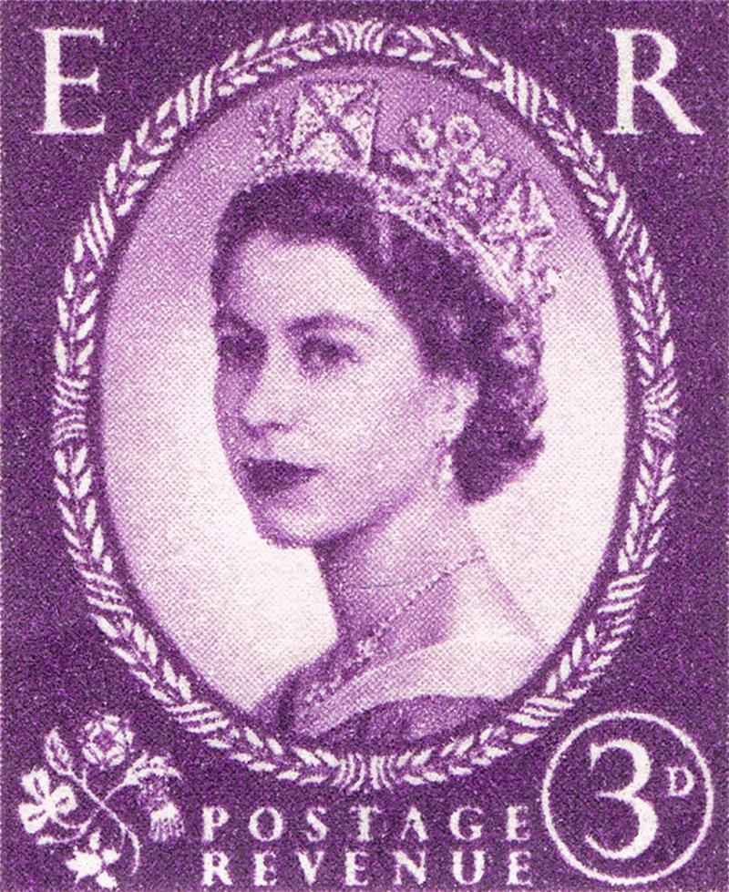 Vintage Queen Elizabeth II