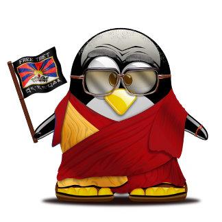 Free Tibet Tux