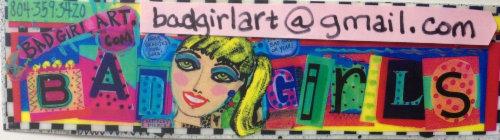 Bad Girl Art by Keithley Pierce