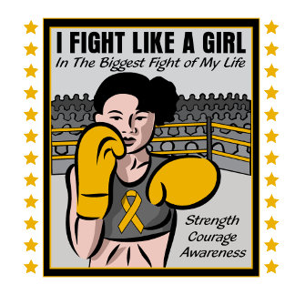 Appendix Cancer I Fight Like A Girl Battle