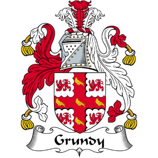 Grundy Family Crest / Coat of Arms