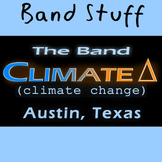 The Band Climate Change Tshirts Branding Items