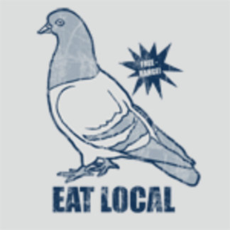 ♥ eat local pigeon