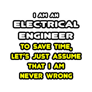 Funny Electrical Engineer T-Shirts and Gifts