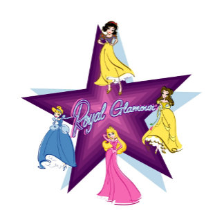 """Disney Princesses Around Star """"Royal Glamour"""""""