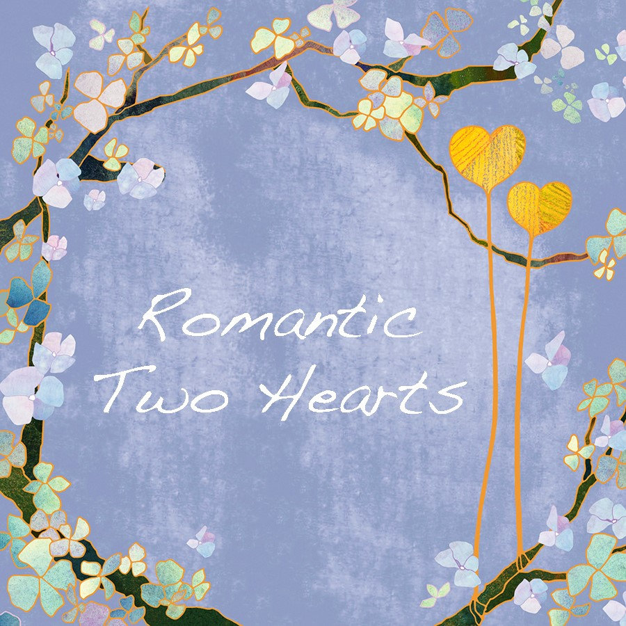 ♥ Romantic Two Hearts
