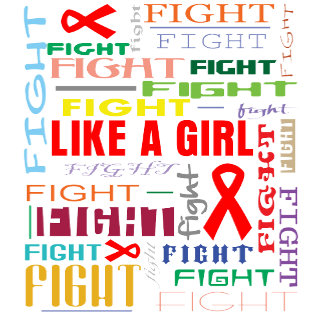 Blood Cancer Fight Like a Girl Collage