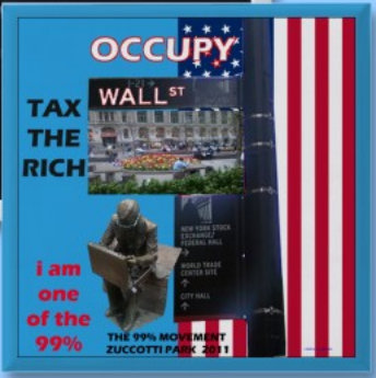 OCCUPY WALL STREET WE THE PEOPLE 99%