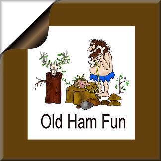 OLD HAM STUFF  - Caveman Ham