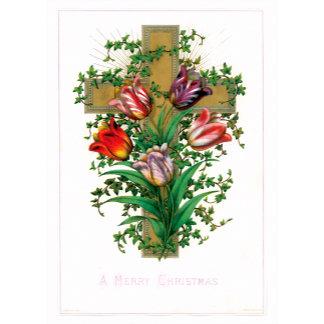 A Merry Christmas ~ Christian Cross