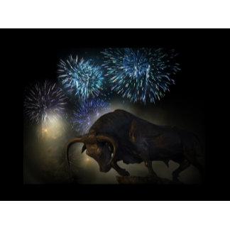 Bull fireworks
