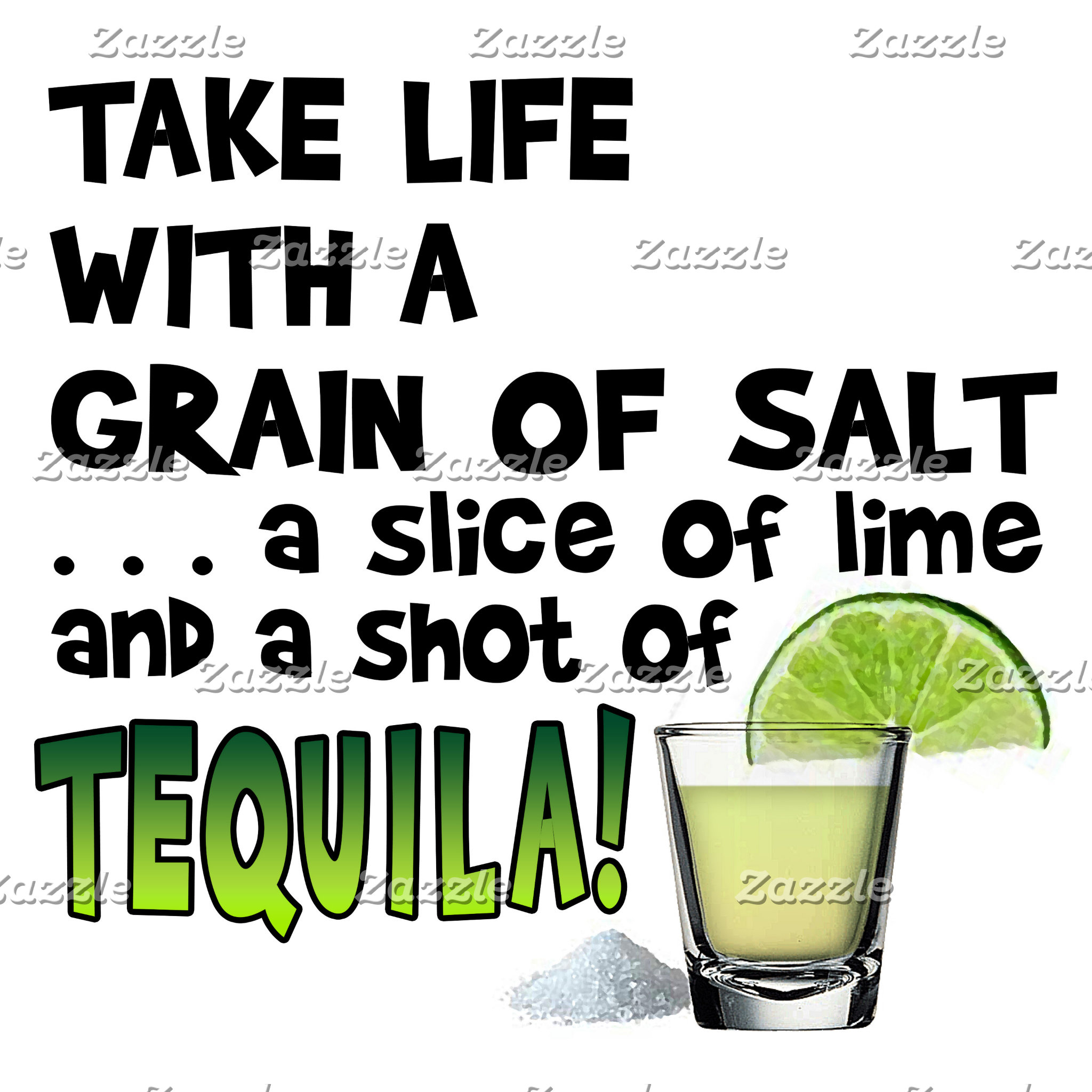 ap3 Life, Salt, Lime, TEQUILA! Cocktail Humor