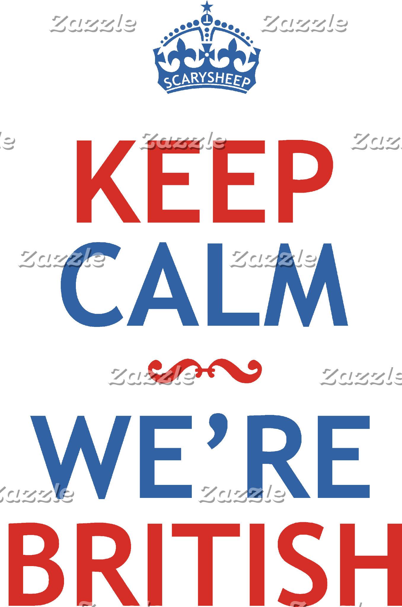 Keep Calm We're British