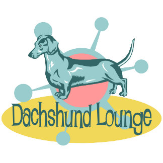 Retro Dachshund Lounge