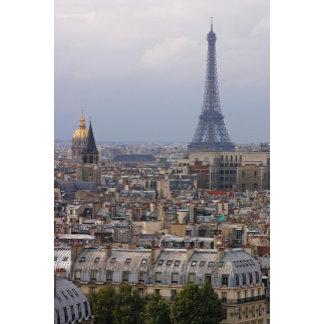 France, Paris, cityscape with Eiffel Tower