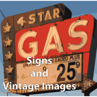 Signs and vintage Images