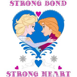 Elsa and Anna - Strong Bond, Strong Heart