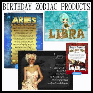 Birthday Zodiac Products