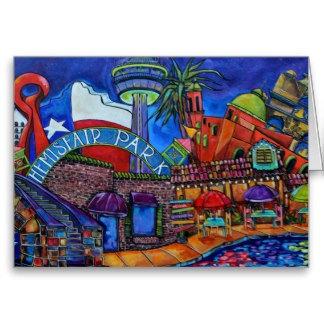 Cards: Texas & San Antonio Themed