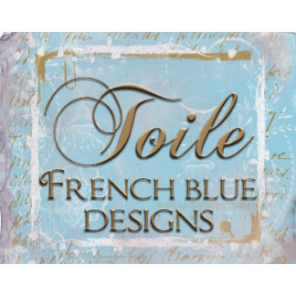 French Blue Toile Designs