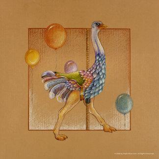 Carousel Ostrich