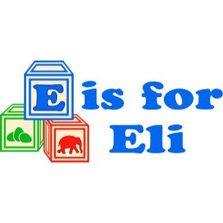 Baby Blocks Eli