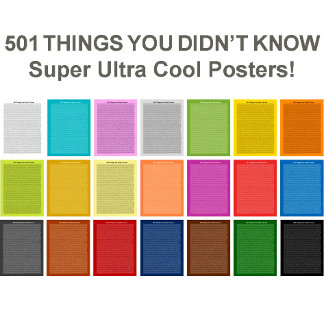 501 THINGS YOU DID NOT KNOW