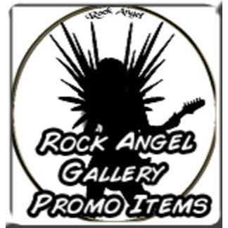 Rock Angel Gallery Promo Designs