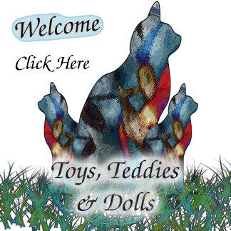 Toys, Teddies & Dolls