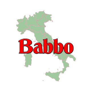 "Babbo ""Italian father"". Great designs here."