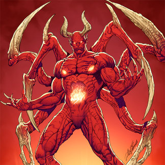 Lucifer the Devil, the Prince of Darkness, Satan