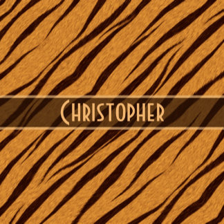 Tiger Stripes Pattern Personalize Gifts