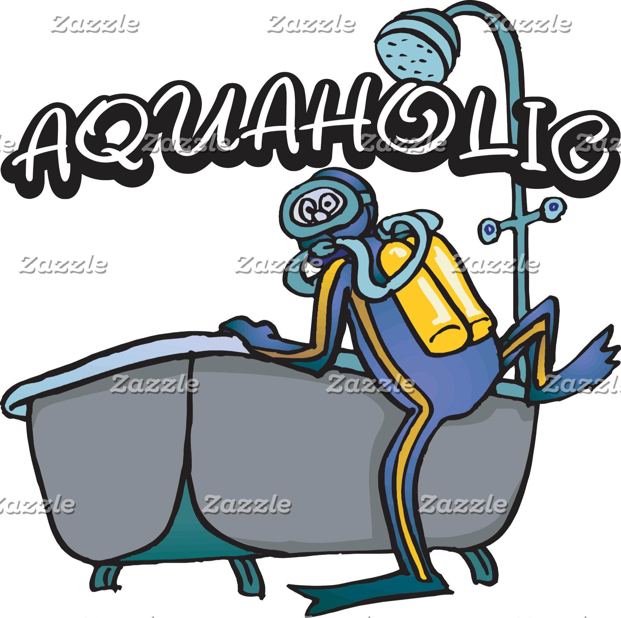 Aquaholic SCUBA T-Shirt Gift Cards
