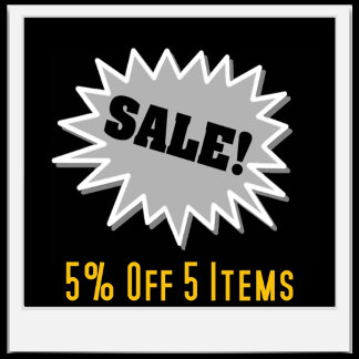 5% Off Sale Items
