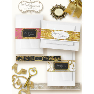: : Belly Bands for Invitations