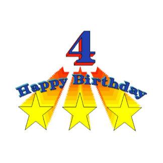 Happy Birthday 4-year-old