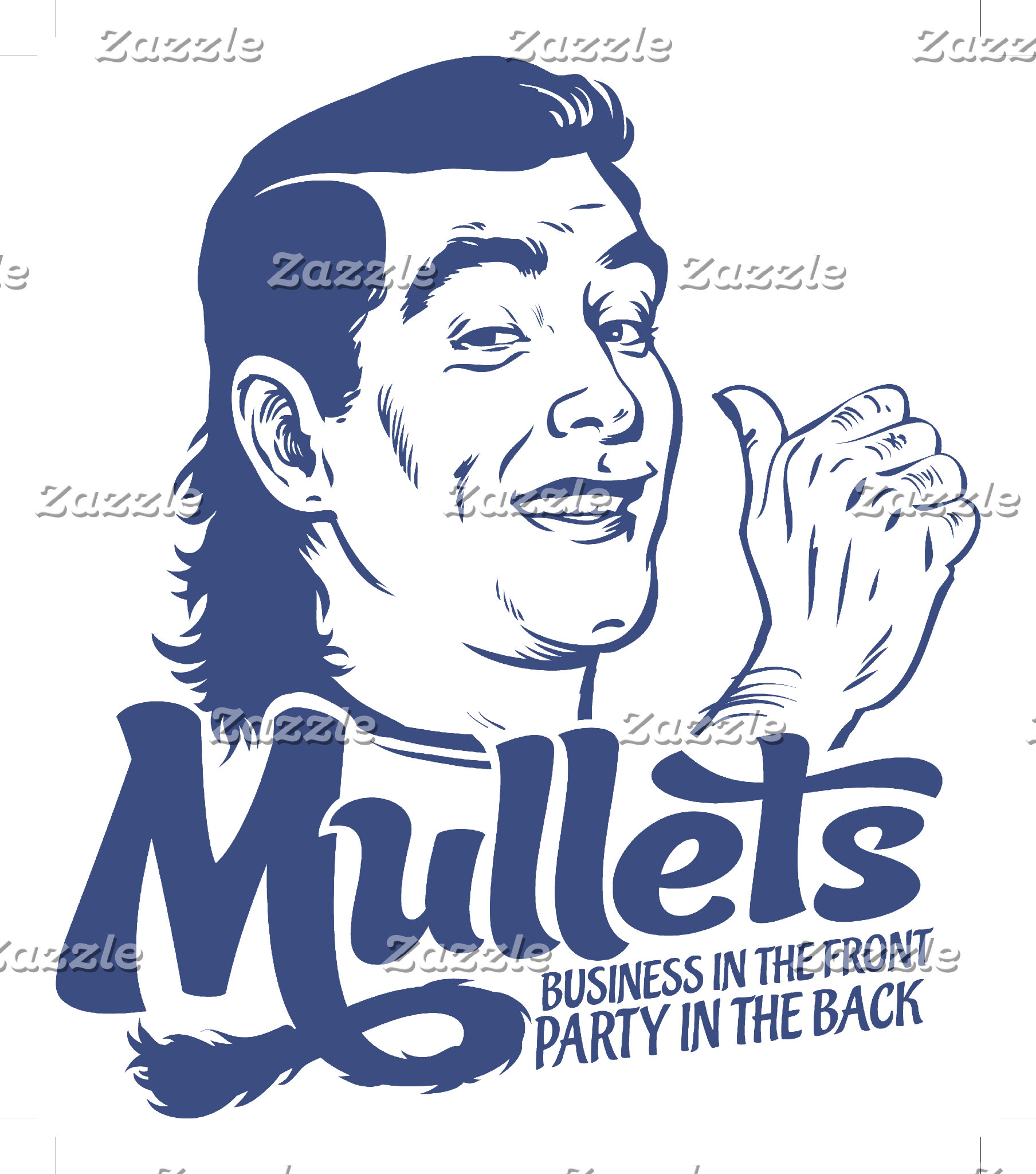 Mullets: Party in the Back