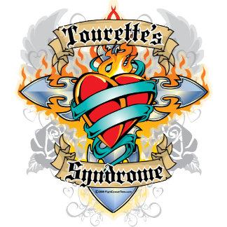 Tourette's Syndrome Cross & Heart