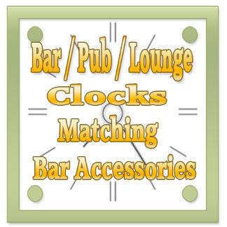 Bar / Pub / Tavern/ Wine Cellar/ Lounge Wall Clock